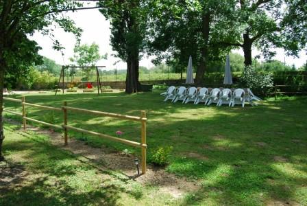 Le jardin du Gite de Groupe en Ariege