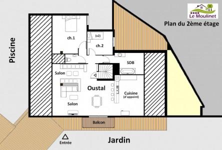 Plan du 2éme étage