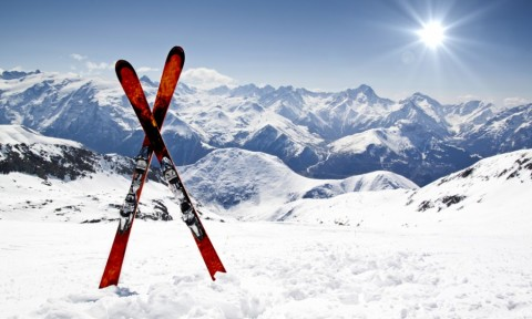 ski en ariege pyrenees