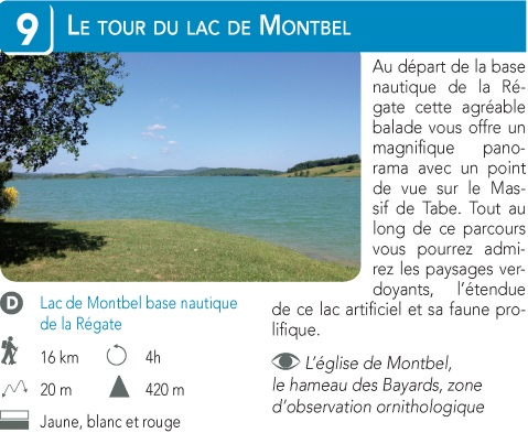 Le Tour du Lac de Montbel